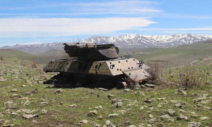 70 yıllık tanklara doğa sahip çıkıyor