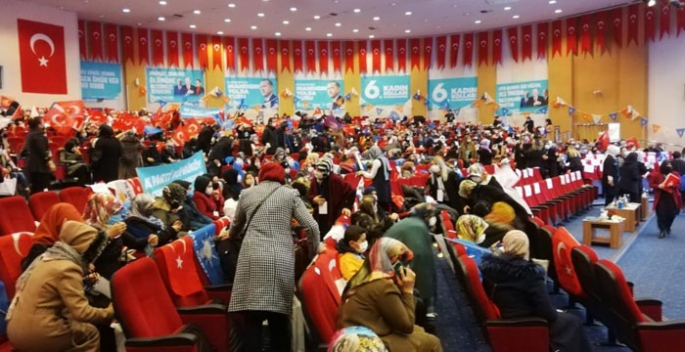 AK Parti Erzurum Kadın Kolları Kongresi yapıldı
