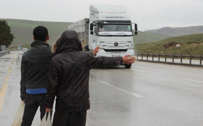 Erzurum-Ağrı karayolunda 'mantarstop' zamanı!