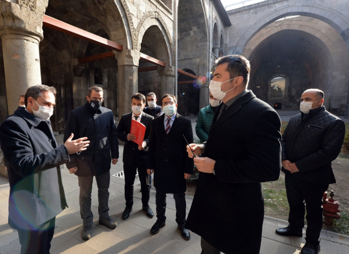 Erzurum'un simgesi 'Çifte Minareli Medrese' müze oluyor!