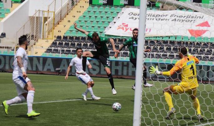 Erzurumspor, Denizli'de öttü: 2-3