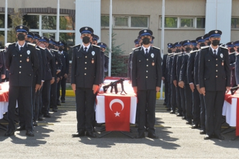 26. dönem polis adayları yemin etti