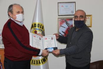 27 gazeteciye drone ehliyeti teslim edildi