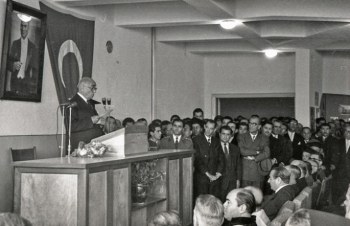 Adı gibi öncü... Atatürk Üniversitesi 64 yaşında...