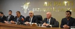 Ak Parti Erzurum'da teşkilat için seçim startı verdi