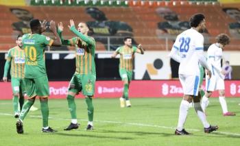 Alanyaspor 4 golle çeyrek finalde!