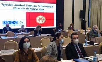 Altınok gözlemci olarak Bişkek'te