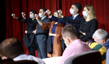 AÜ'ye alınacak 295 personelin kura çekimi yapıldı