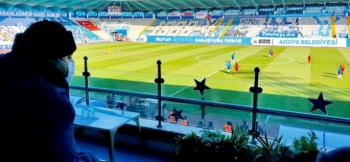 Aziziye'den Erzurumspor'a tam destek
