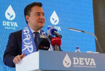 DEVA Partisi Genel Başkanı Babacan Erzurum'da konuştu