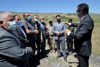 Erzurum'da 575 deprem konutunun temeli atıldı
