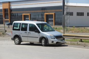 Erzurum'da faciadan dönüldü