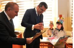 Erzurum'da Karne sevinci