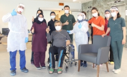 Erzurum'da Kovid-19 ile mücadelede yeni bir başarı