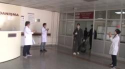 Erzurum'da tedavisi tamamlanan 11 hasta daha taburcu oldu