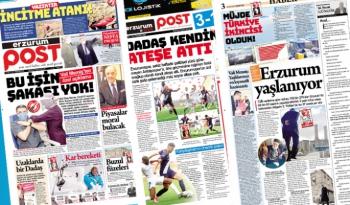Erzurum Post'un  2.Sayısı çıkt! İşte e-gazete!