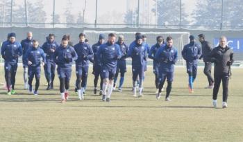 Erzurumspor, Fenerbahçe hazırlıklarına devam etti