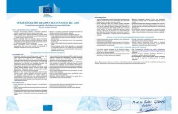 ETÜ, ECHE kalite sertifikası ile akredite edildi