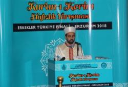 Hafızlık Erkekler Türkiye Finali Erzurum'da yapıldı