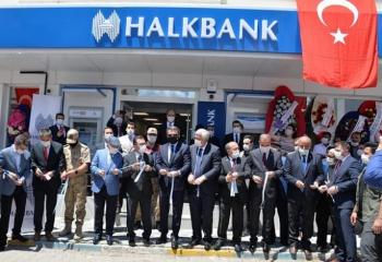 Halkbank'tan Narman'a uydu şube