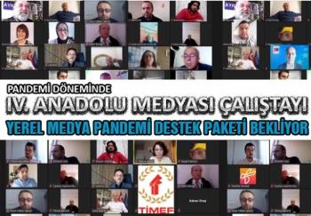 IV. Anadolu Medyası Çalıştayı yoğun katılımla gerçekleşti