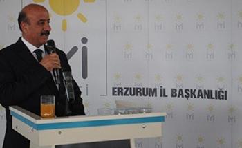 İYİ Parti Erzurum İl Başkanlığı'na Melih Kırkpınar seçildi