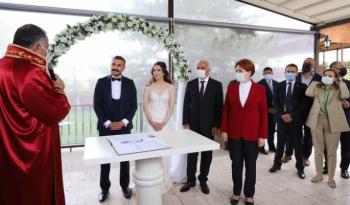 İYİ Parti'nin zirvesini buluşturan düğün...