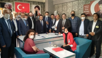 İYİ Parti Palandöken İlçe Başkanlığına Ahmet Han Efe seçildi