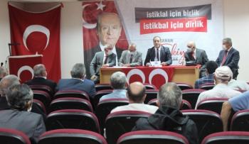 MHP kongrelerine üç ilçe ile devam etti