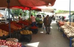 Normalleşme sürecinde halk pazarları boş kaldı