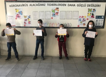 Öğrenciler korona virüse karşı gönüllü sağlık elçisi oluyor
