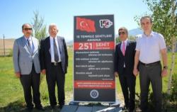Oltu'da 15 Temmuz şehitleri anısına 251 ağaç dikildi