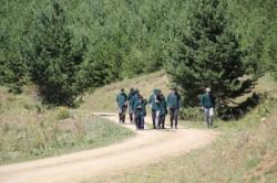 Oltulu Yeşilaycılar doğaya yürüdü!