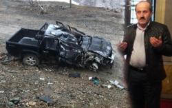 Ovit Tüneli girişinde trafik kazası: 1 ölü