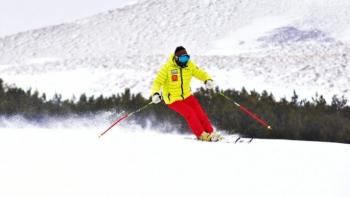 Palandöken kar kalınlığı 1 metreyi aştı
