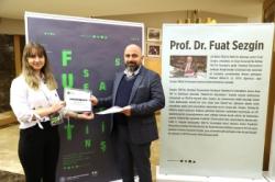 Prof. Dr. Fuat Sezgin sergisi AÜ'de açıldı