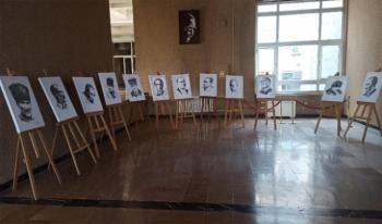 Prof.Dr. Kadıoğlu'nun 'Atatürk Portreleri Samsun'da