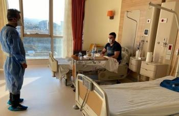 Sağlık Müdürü Bedir'den sağlıkçılara moral ziyareti