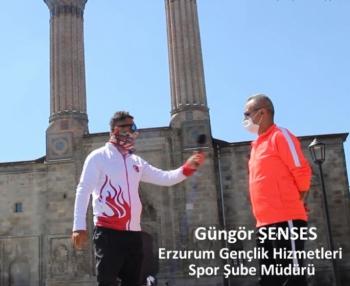 'Şehir Şehir Eskrim' Dadaşlar diyarı Erzurum'da