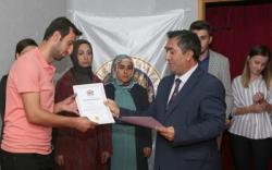 Tortum'da yeni girişimciler sertifikalarını aldı