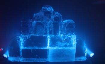 Türkiye'nin tek buz müzesi 15 Temmuz Sergisi ile açıldı
