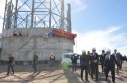 Vali Memiş Doğu Anadolu Gözlemevi'ni ziyaret etti