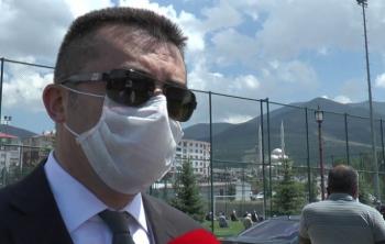 Vali Memiş, Erzurum'da Covid-19 vaka sayısındaki artışı değerlendirdi