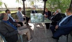 Vali Memiş ve Milletvekili Akdağ'dan, Yücelik'e ziyaret