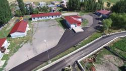 Yakutiye Belediyesi 31'inci köyünü de asfaltladı...