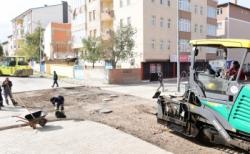 Yakutiye Belediyesi asfalt takvimini tamamlıyor