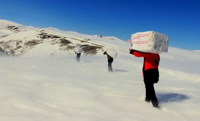 Karlı dağların ardından gelen çuval çuval mutluluk