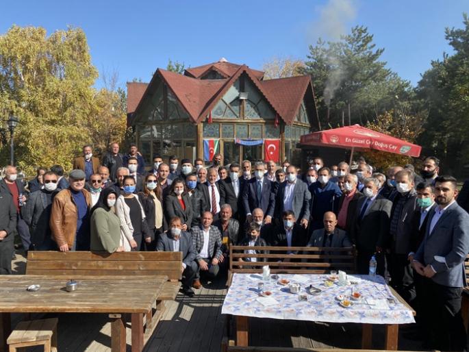 MHP İl ve ilçe yönetimleri kahvaltıda bir araya geldi