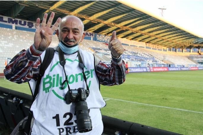 Şampiyon Dadaşların, şampiyon foto muhabiri