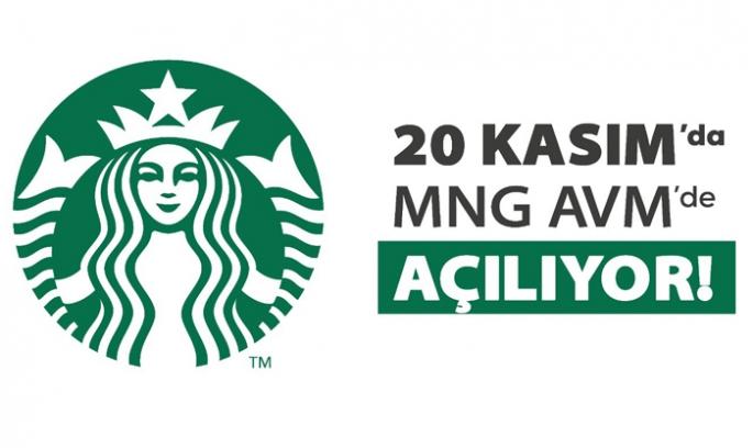 Starbucks, Erzurum MNG'de 20 Kasım'da açılıyor